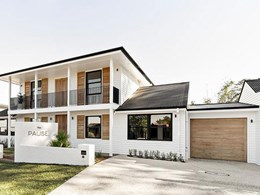 Timeless weatherboard beach home reimagined with Cemintel's 'Balmoral'