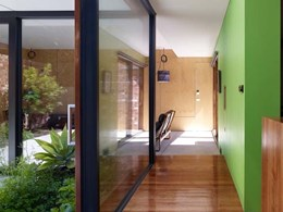 Capral framing, sliding doors and louvre windows feature in architect's home renovation