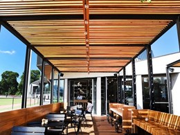 Award-winning Melbourne venue brought to life with timber