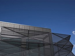 Aluminium perforated panels achieve design goals at Latrobe University Dining Hall