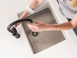 Achieving a streamlined kitchen aesthetic with Corian® Sparkling Sinks