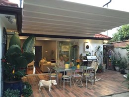 Aalta Papilio retractable roof creates seamless indoor-outdoor experience for Manly family