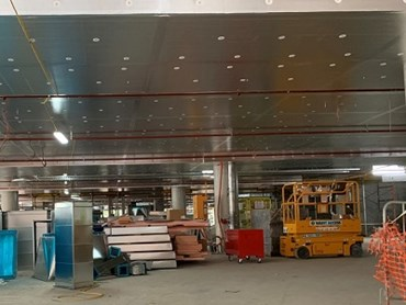 Kooltherm K10 FM G2 soffit boards at the Macquarie Park building
