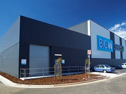 Kingspan's Trapezoidal wall panels reduce build time at Craigieburn retail complex