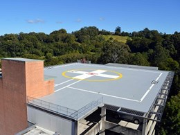 Sunshine Coast hospital helipad refurbished with Deckshield ID deck coating