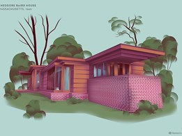 The house designs of Frank Lloyd Wright