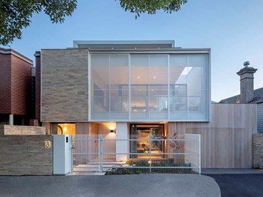 The South Melbourne home