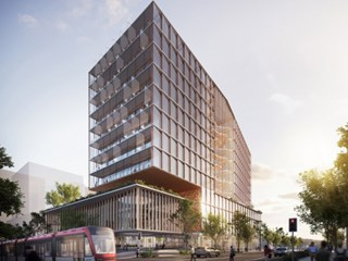 A new hub for multi-disciplinary medical, education, training and research will be established at the Randwick Hospital Campus under a new partnership between UNSW Sydney and the NSW Government. Image: BVN