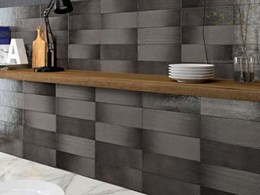 New Aura wall collection with a handcrafted look