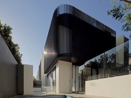 Viridian affords acoustic and visual privacy at Julian Brenchley-designed Clovelly townhouses