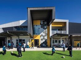 'Energy and optimism' in a contemporary school design