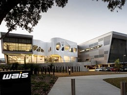 Kingspan's insulated panels bring WAIS Perth sports training facility's façade to life