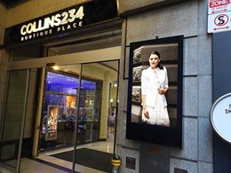 Just Digital Signage provides smart solution to promote boutique centre and increase retailer visibility