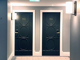 Studform acoustic doors meet heritage hotel's design objectives