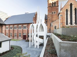 A contemporary twist to a historic cathedral precinct