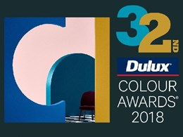 Entries open for 32nd Dulux Colour Awards