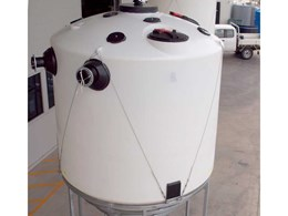 Polymaster's food grade PE tank helps winery efficiently capture recycled water