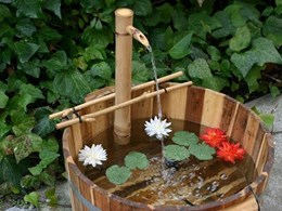 The Zen Garden: 8 water feature ideas for your garden