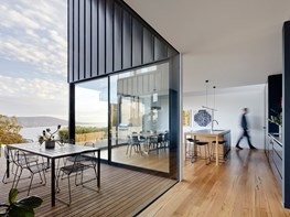 Sweeping coastal views in a Mornington Peninsula home