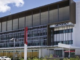 Taps, stainless steel grating exceed infection control guidelines at Townsville Hospital