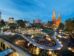 The new garden that is transforming Victoria's Parliament House