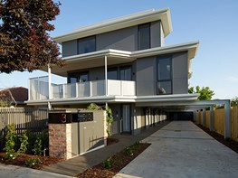 Heather Street townhouses echo simplicity with style