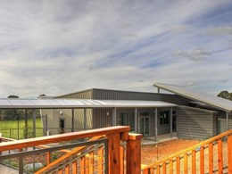 Kingspan's trapezoidal roof helps create sustainable school building in Leongatha, VIC