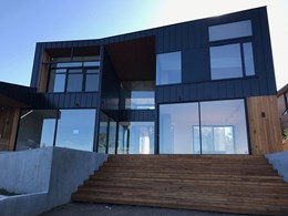 Standing Seam cladding adds striking look to Mt Martha beachside home