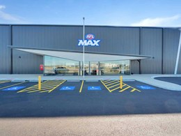 3 fibre cement products meet the brief for Adelaide's AFL Max recreation centre