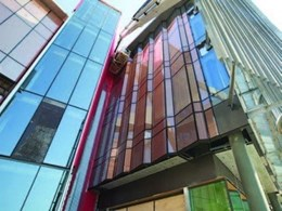 Okatech insulating glass reduces solar load at new Monash Uni building
