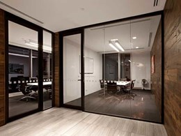 Criterion's aluminium partitions and sliding track system assist with 'wow' factor at new Asciano office