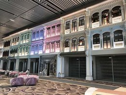 Singapore's Changi Airport T4 Heritage Zone tenancies secured with ATDC's security grilles