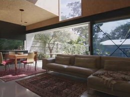 AWS window solutions offer clear views and ventilation at Red Hill Brisbane residence