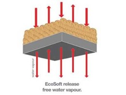 Defeat sick building syndrome with Carpets Inter Ecosoft® carpet tiles from Above Left