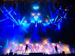 New lighting design controlled by Jands' flagship Vista L5 console rocks sister festivals