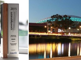 Adelaide Oval water saving installation wins Enware 2015 Sustainability Award