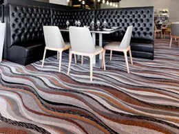 Custom Axminster carpet brings an ocean vibe into Kwinana tavern