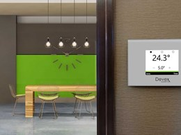 Devex Systems introduces new intelligent thermostat for underfloor heating