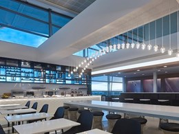 Air New Zealand Lounge at Brisbane airport gets Nullifire steel fire protection