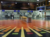 Nora rubber floors creating great first impressions at airports worldwide