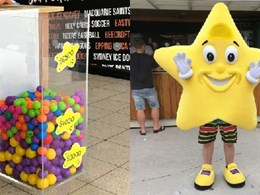 Allplastics' acrylic bin helps with Starlight Foundation's fundraiser