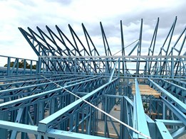 Large spans achieved with SBS steel framing at Allanvale Nursing Home