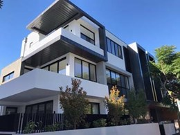 Archclad Express panels create a beautiful exterior on Brighton apartments