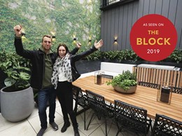 How QwickBuild helped The Block contestants build the perfect outdoor space