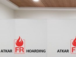 FR Hoarding insulated panels for signage