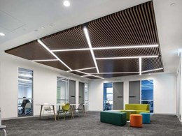 Timber slats becoming popular in building design