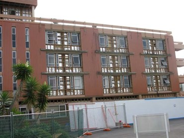 Asbestos Paint Stripped Off Auckland Apartment Building