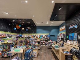 Aglo fittings light up Australian Geographic Werribee store without glare issues