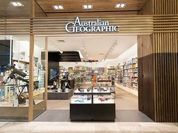 LED-based retail lighting design conceptualised for Australian Geographic stores