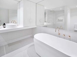 Omvivo baths and basins selected for luxury South Yarra apartments